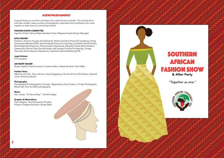 Southern African Community USA Fashion Show V4