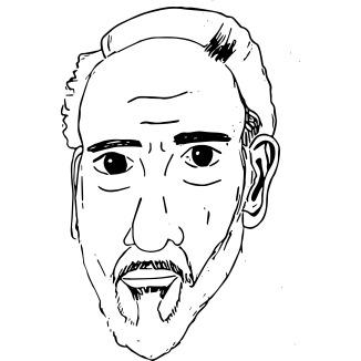 Christopher Lee Sketch