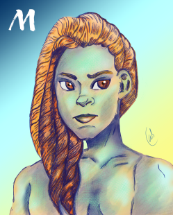 M_Mermaid Portrait